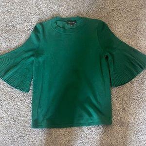 Emerald Green Ann Taylor Sweater - women's size S